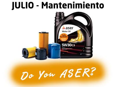 Las 12 causas ASER – Mantenimiento
