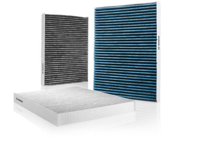 Bosch recomienda sustituir cada año el filtro del habitáculo en híbridos enchufables y eléctricos