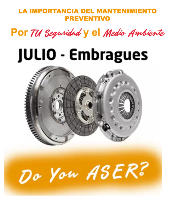 Las 12 Causas ASER - El Embrague